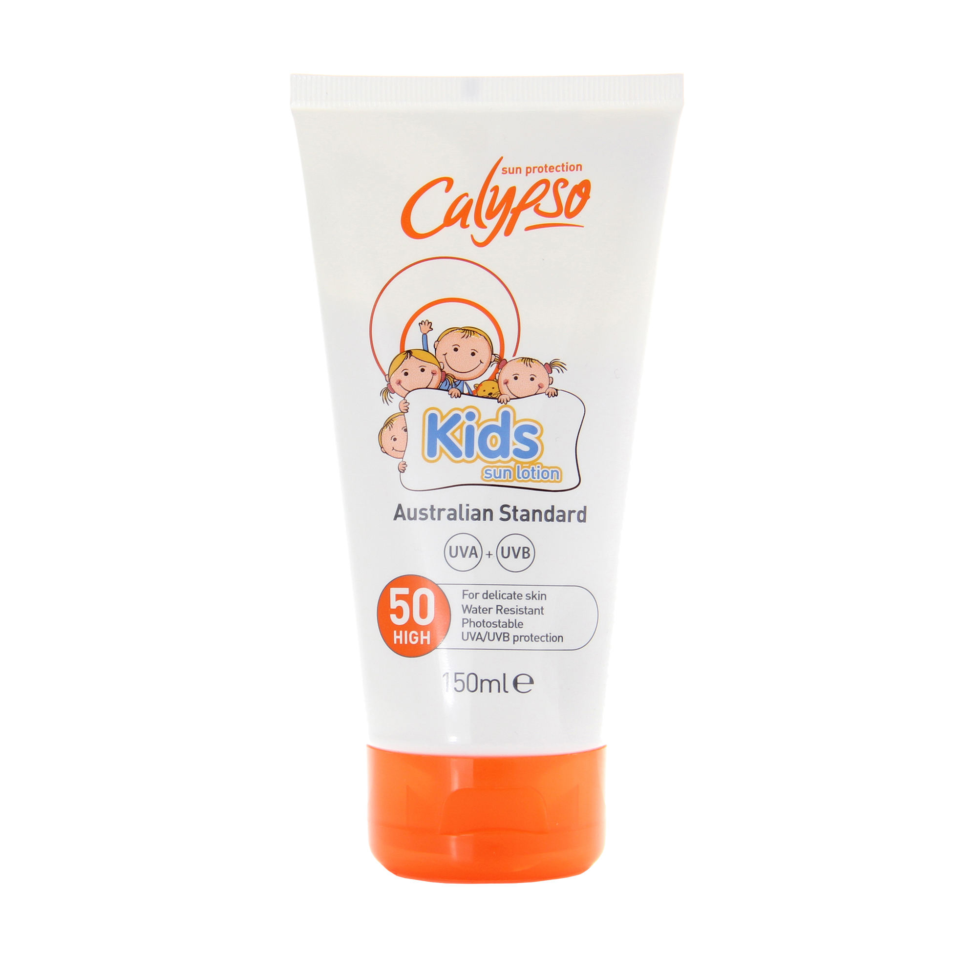 Calypso Kids Sun Lotion Australian Standard Sunscreen - Wholesale SPF50 Sun Protect Waterproof Sunblock for Baby High UV Protect