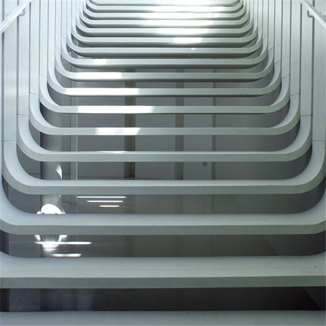 Indoor Handrail Balustrade Staircase Glass Stairs folding attic stairs with handrail