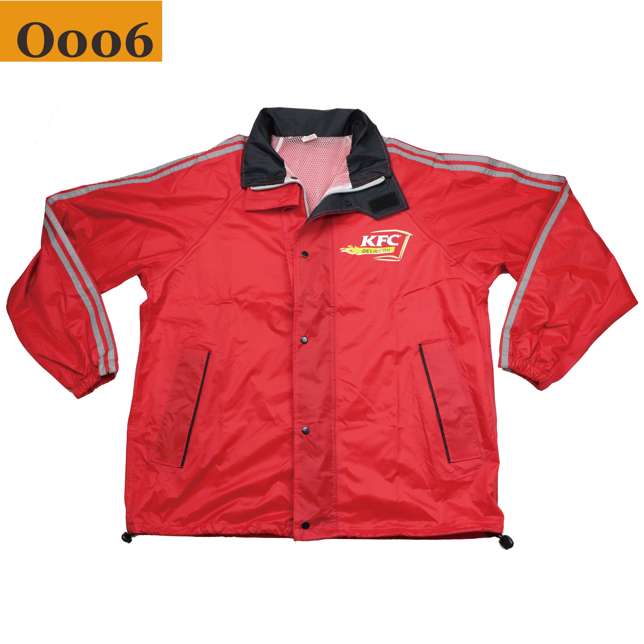 2020 Waterproof Windproof And Quick-drying Outer Reflective Strip Coat