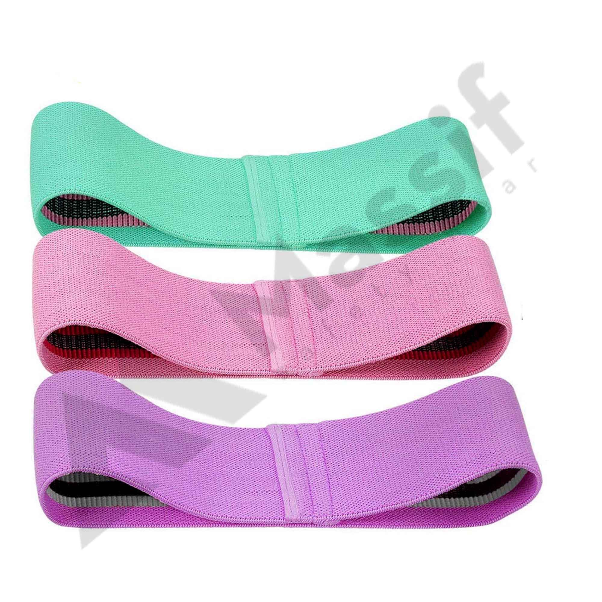 Adjustable Resistance Hip Loop bands for Booty and legs