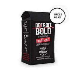 Detroit Bold Coffee Baseline 8 Mile Blend 24 Ct Single Serve Keurig Style D-Cups Smooth and Delicious America's Boldest Coffee