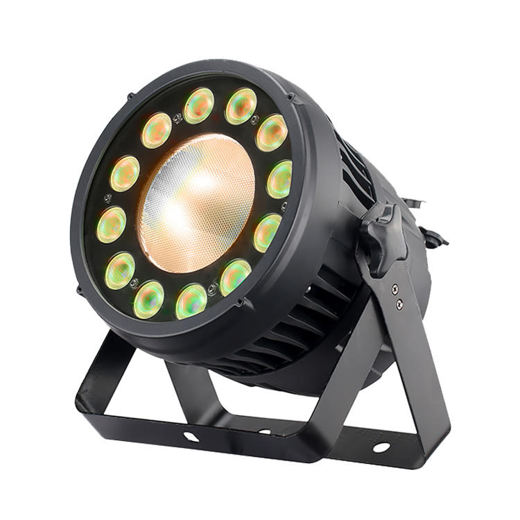 2020 Christmas party led light 12x12w rgbw 4in1 wash lighting par led with dmx512 200W COB rgbw waterproof led stage light