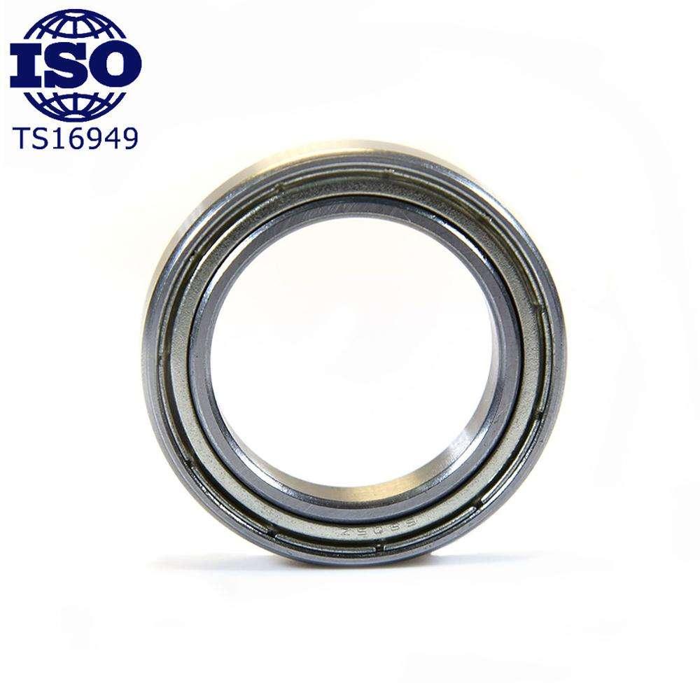 Pack de 2 6805 61805 25x37x7mm 2RS Thin section Deep groove ball bearing
