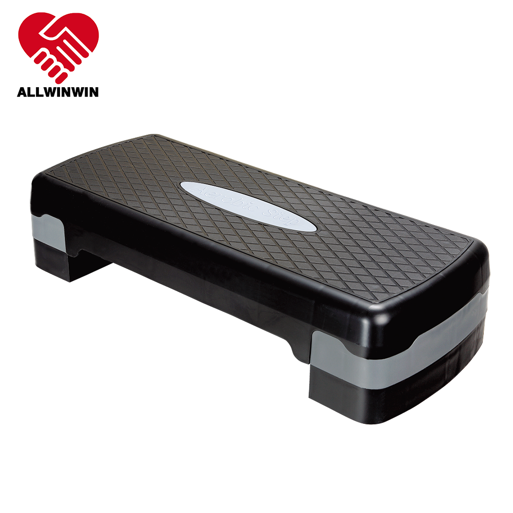 ALLWINWIN AES07 Aerobic Step - Adjustable Exercise Workout Tone Stepper Risers Trainer