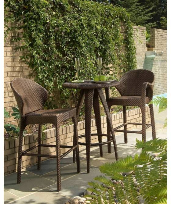 high quality rattan garden bar set
