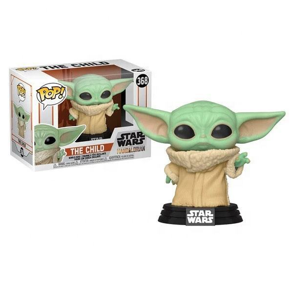 POP star baby yoda toys new kids movie Figure toys war children Model collection doll 368 Viny Model Figure Toys