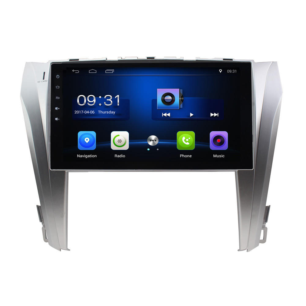 YZG Touch Screen Car Audio per Toyota Camry 2015 2016 Multimediale con GPS Bluetooth RDS Wifi