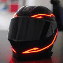 The New 2 Generation Battery Multi Color Motorcycle Helmet G