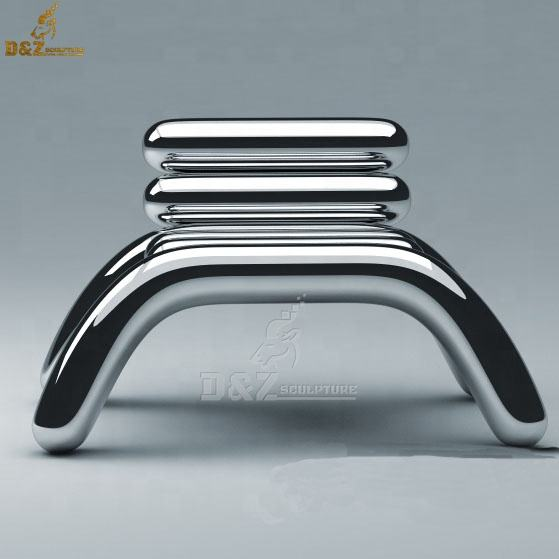 Modern art design furniture chair sculpture for office decoration