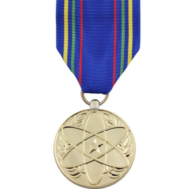 Custom Miniature Military Operational Service Medal for Afghanistan