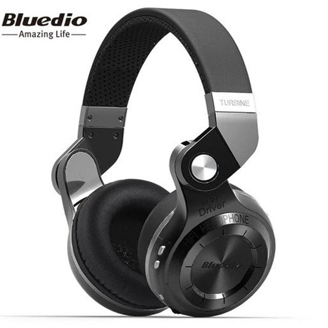 premium Bluedio T2S Bluetooth headphone BT 4.1 wireless foldable headset with bass well connected with smartphone iOS android