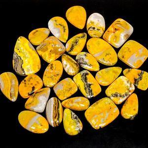 Natural Bumble Bee cabochon Rarest~Mix Shape 500-3000 Cts MX-XM Bumble Bee jasper Loose wholesale Price lot Bumble Bee jasper gemstone