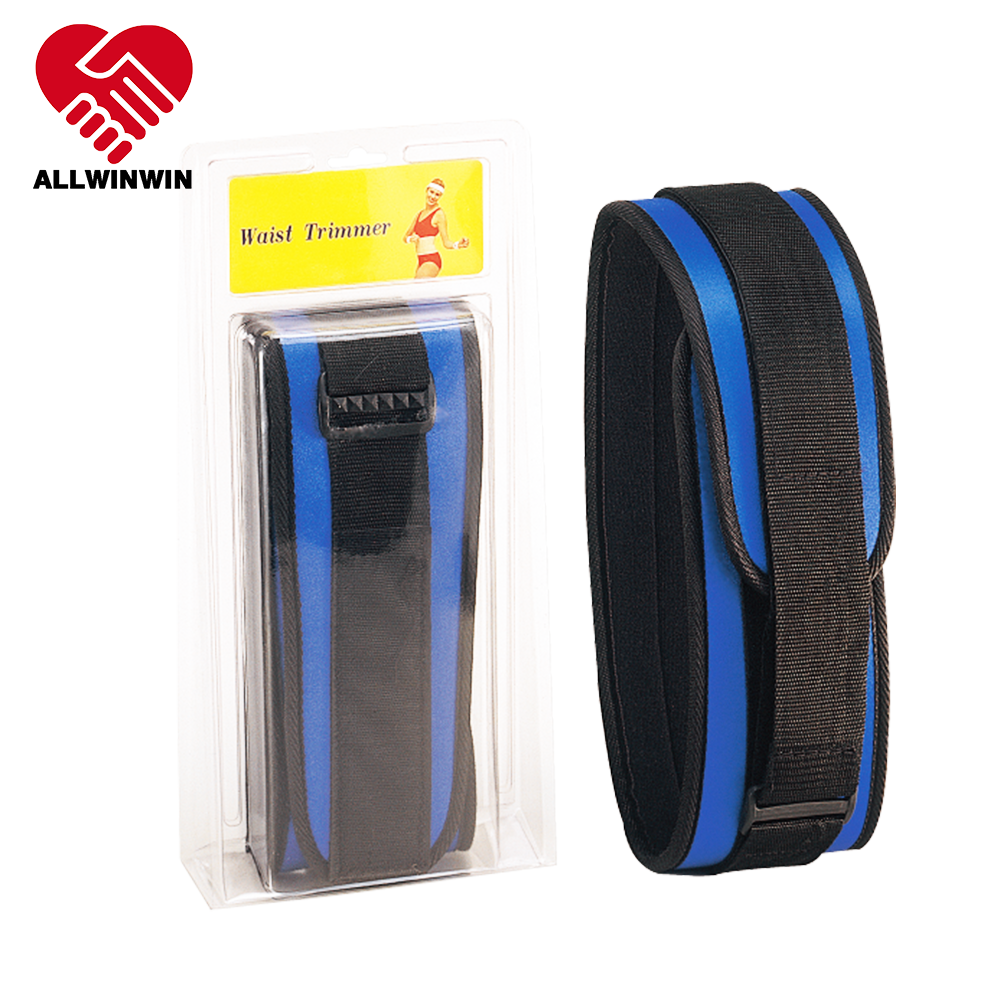 ALLWINWIN BSP10 Back Support - Belt Lumbar Lower Brace Strap Compression Gym Posture