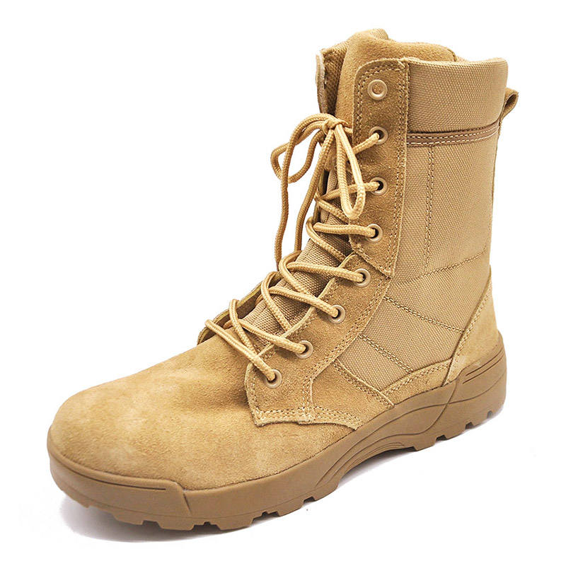 High Quality Enten Safety Breathable Desert New Us Army Combat Military Style Dress Boots