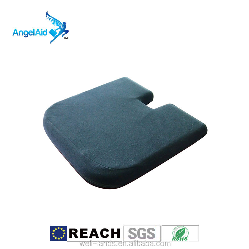 Taiwan Lumbar support high density memory foam orthopedic car chair office wheelchair high density seat cushion designer-cushion