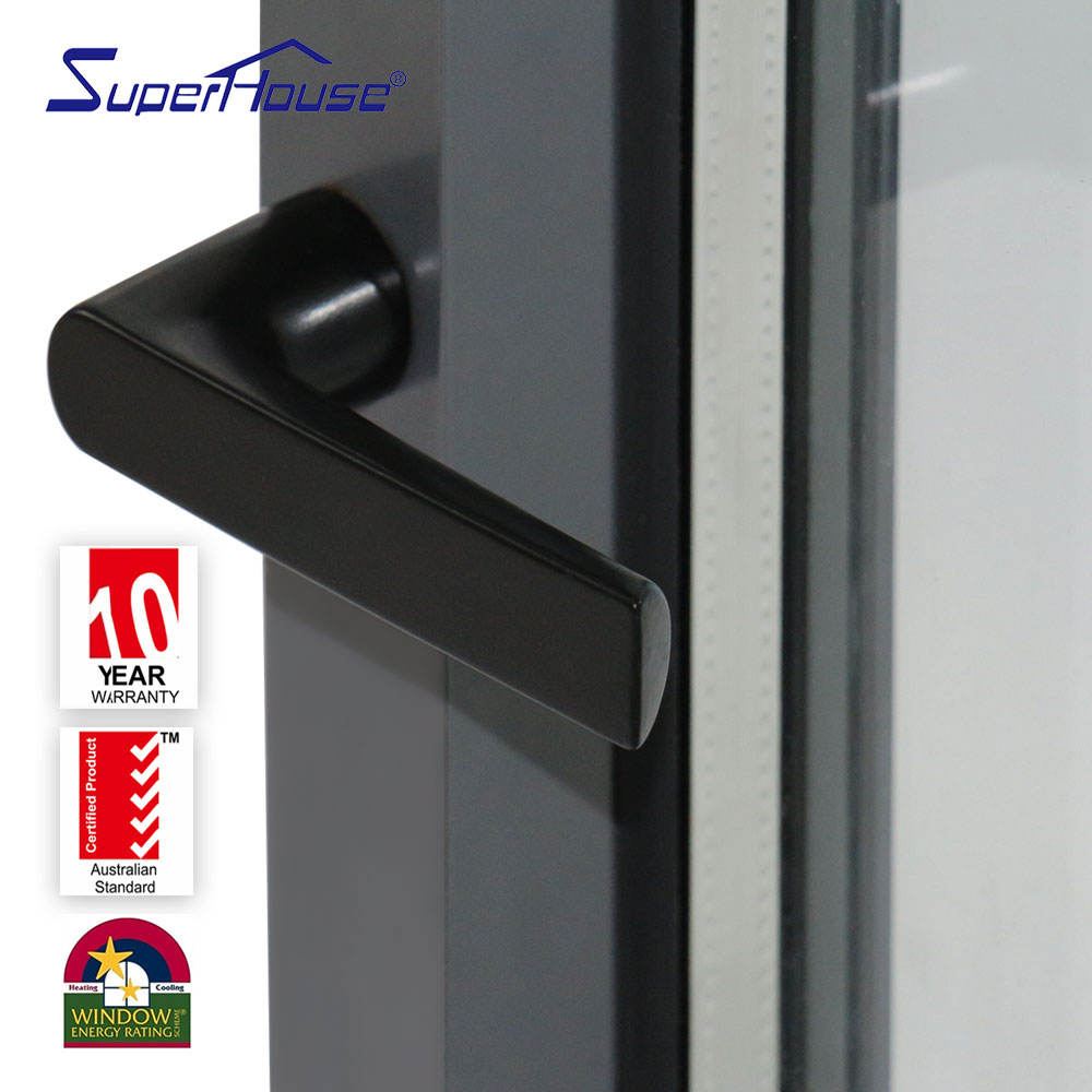 Aluminum Glass AS2047 NFRC DADE Double Glass Tilt And Turn Aluminium Window