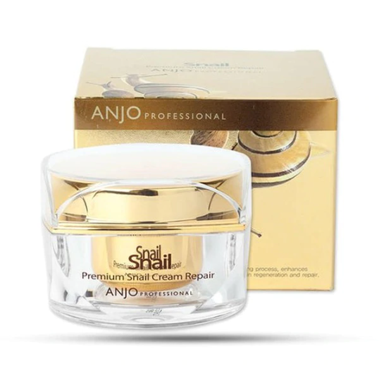 ANJO Premium Snail Cream Repair Whitening Anti-Wrinkle Anti-aging Nourishing Korea Cosmetics face cream lotion skin care