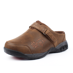 Special Design Austin Leather Women'S Brown Soft Leather Slip-On Clog Ensuring Longevity And Durability
