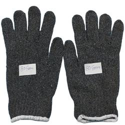 Best quality grey cotton gloves for safety purpose