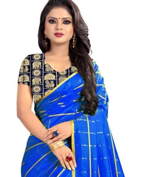 latest indian style classic saree with blouse with low price