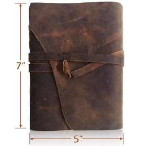 In pelle Ufficiale Notebook Notepad Diario Notebook Sketch Pad Scrapbook Personal organizer
