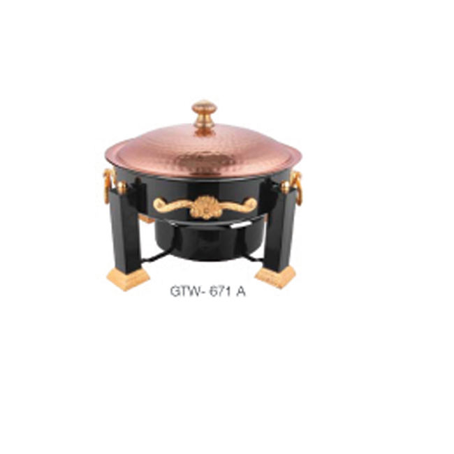 COPPER CHAFING DISH / CHAFING SERVING DISH SET / LUXURY CHAFING DISH