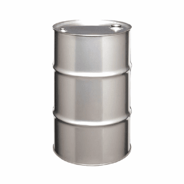 210 Ltr Capacity Stainless steel open top Head Drum with cover lid for Regular use