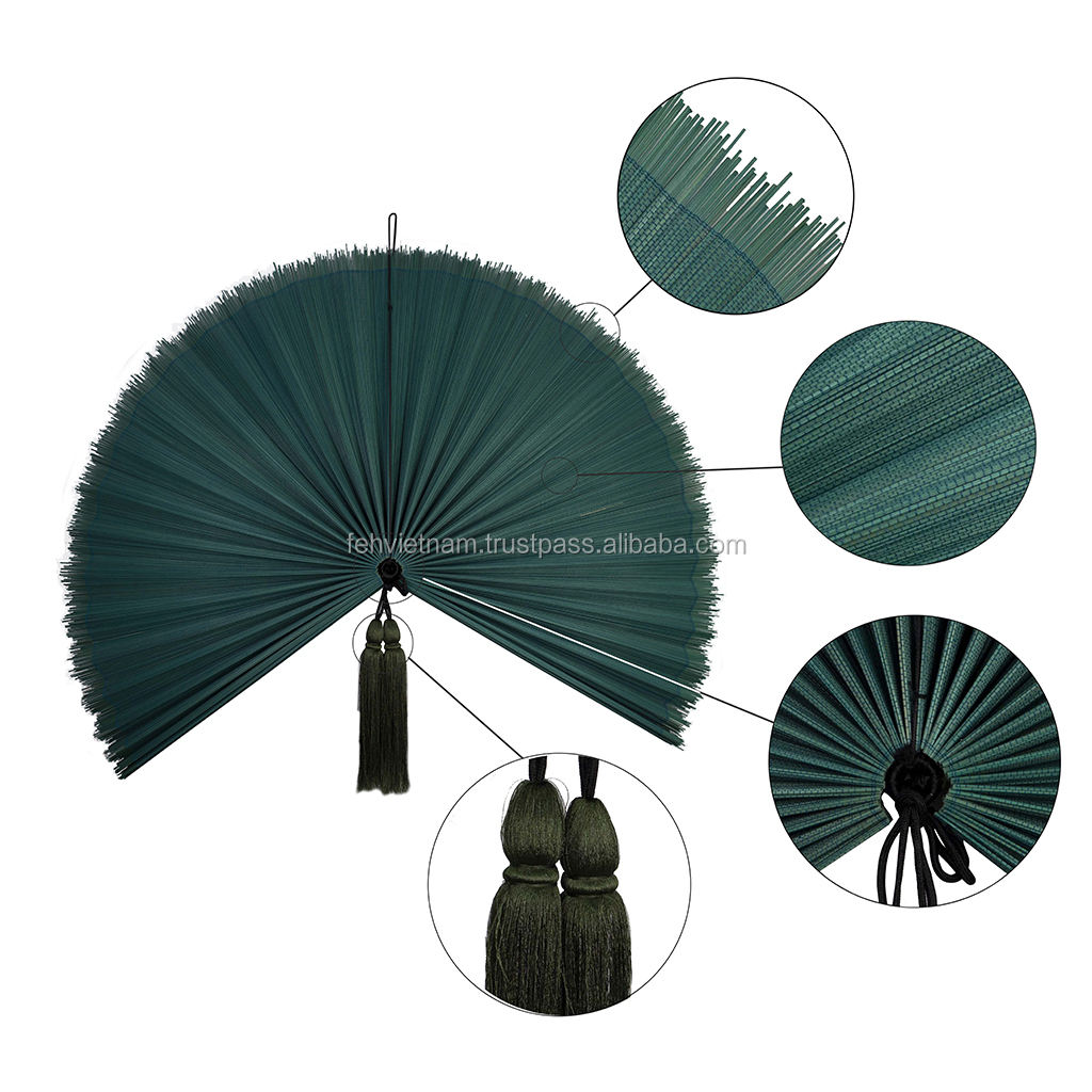 Bamboo Wall Fan Wall Decoration Bamboo Crafts Art Hand Fan Made In Viet Nam