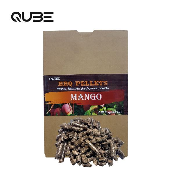 Premium mango grilling BBQ wood pellets for smoke