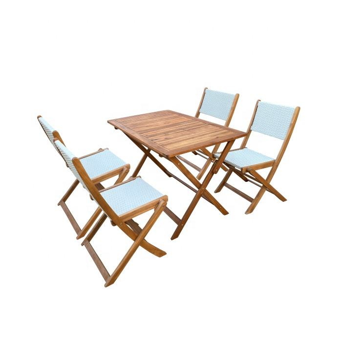 Wicker Rattan Dining Set-Terrasse Möbel-Moderne <span class=keywords><strong>Outdoor</strong></span> Möbel