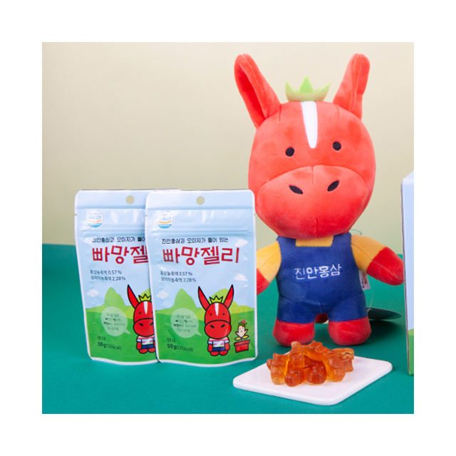 [Bba Mang Jelly]Delicious health products red korean ginseng jelly