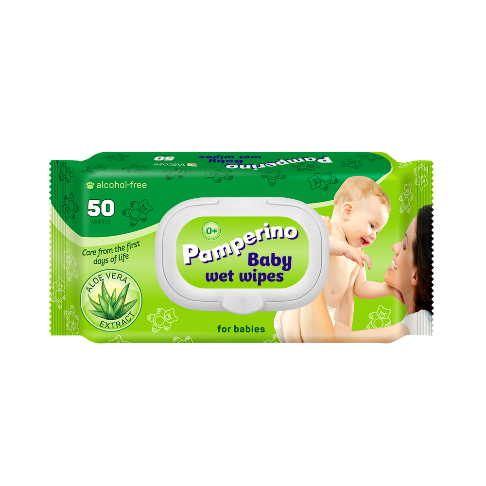 Pamperino 50, Del <span class=keywords><strong>Bambino</strong></span> salviettine umidificate