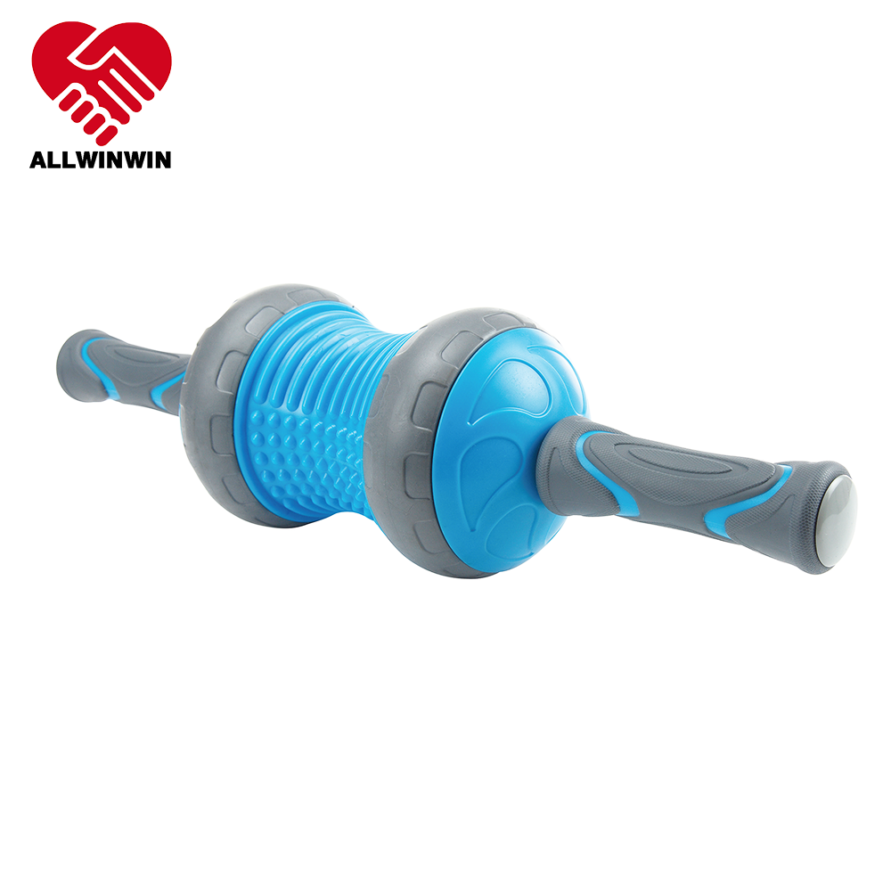ALLWINWIN ABW05 Ab Wheel - Peanut Ball Detachable Massage Stick Roller Abdominal Workout