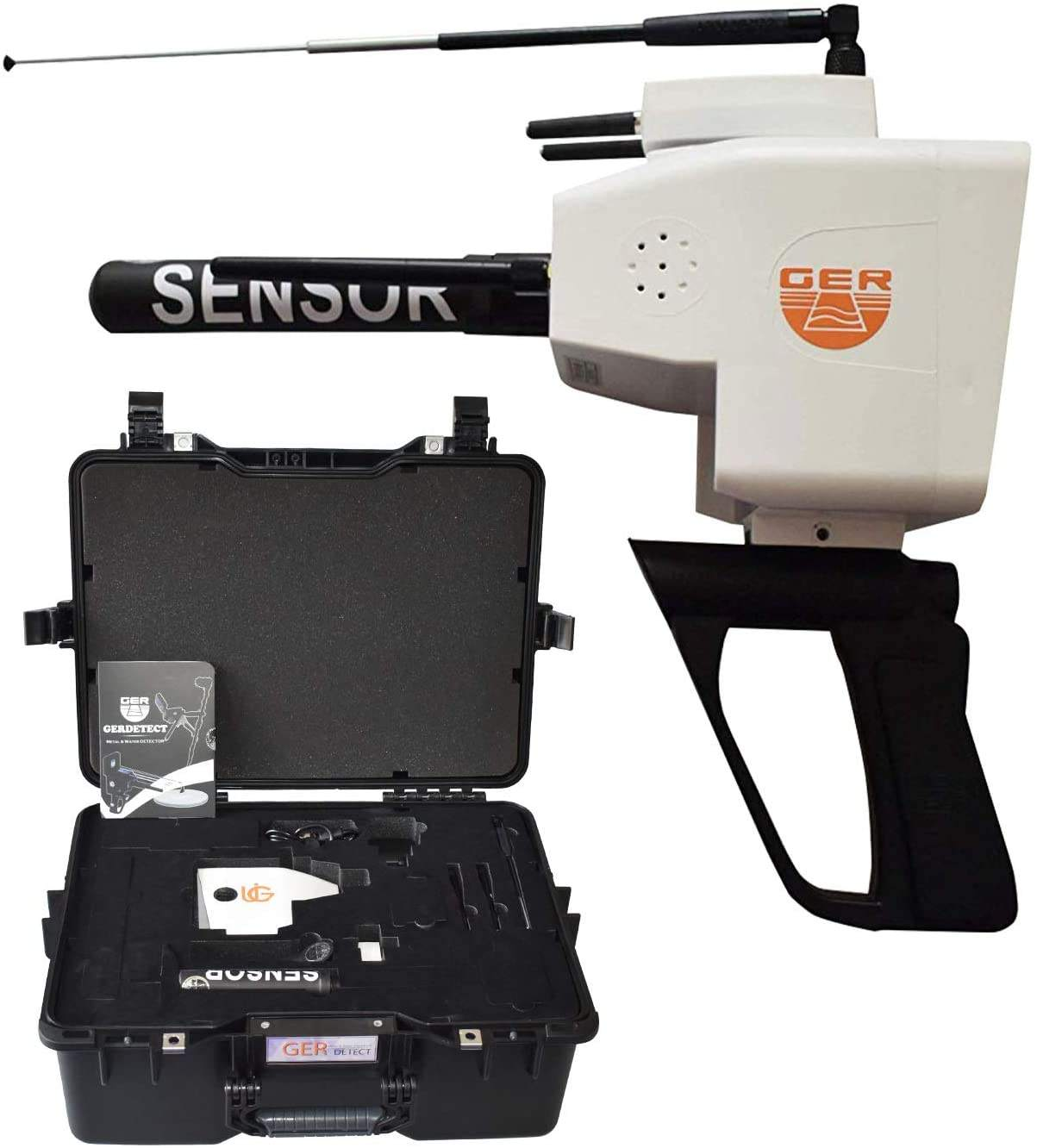 FACTORY PRICE FOR-GER DETECT Titan 500 Professional Diamond Metal Detector - Discover Gemstones and Diamonds - Long Range Underg