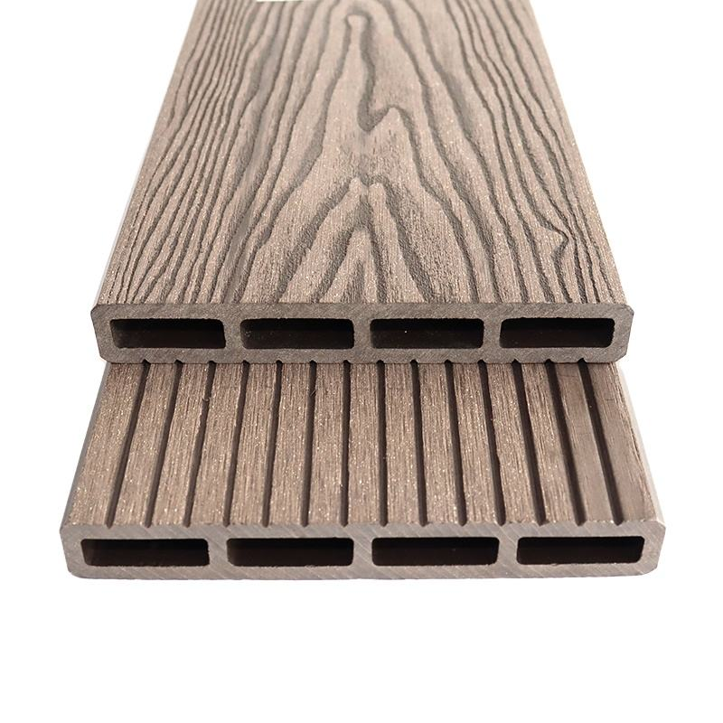 Outdoor Waterdichte Decoratieve Composiet Hout Terras <span class=keywords><strong>Wpc</strong></span> Decking Hout Hout Kunststof Composiet Tuin Supply Engineered Flooring