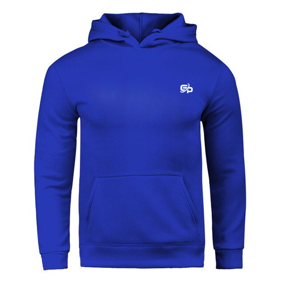 Custom Made Wholesale Pullover Hoodies Manufacturer 2019 Hot Sale Sky Blue Color Hoodie For Men