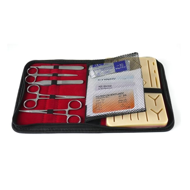 Suture Practice Kit for Medical Students Surgical Suture Training with Suture Pad