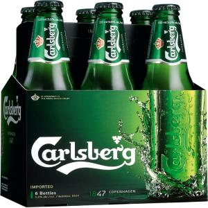 CARLSBERG GREEN LABEL Bir Dapat (24X500ML) 2020