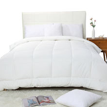 New design 300gsm polyester fiber filling luxury cotton comforter