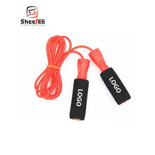 Gym Fitness Skipping Rope Led Speed Adjustable Custom Logo Plastic Jump Weighted For Children Kids Smart Aluminum Design Rope