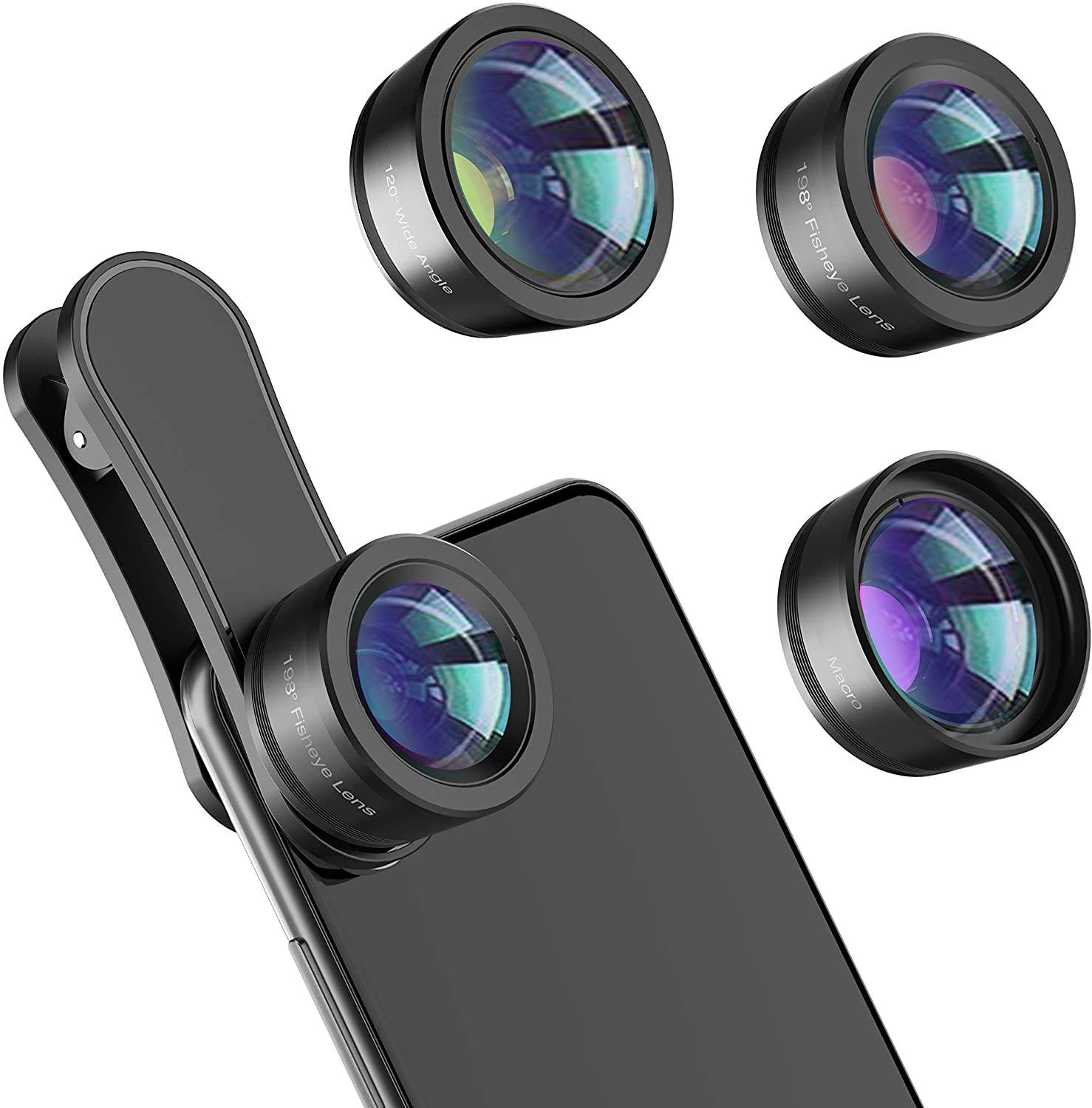 Mobile Phone Gadget 2019 Camera Lenses 18MM low Distortion 110 Degree Wide Angle Lens for Smartphones
