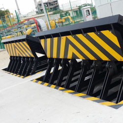 High Security Tescon Vehicle Access Control Anti Terrorist Hydraulic Road Blocker Parking Barrier