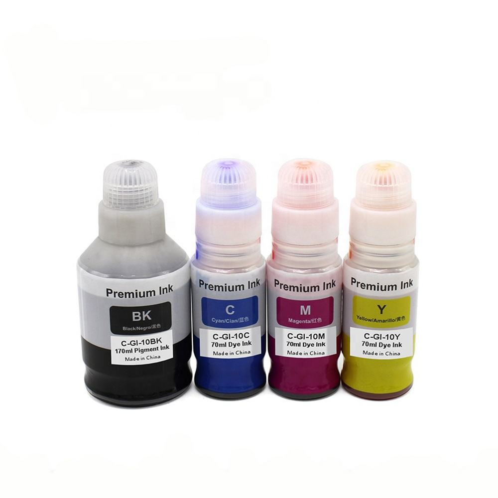 Tatrix GI-10 GI10 Compatible Water Based Bulk Bottle Refill Ink for Canon PIXMA G6010