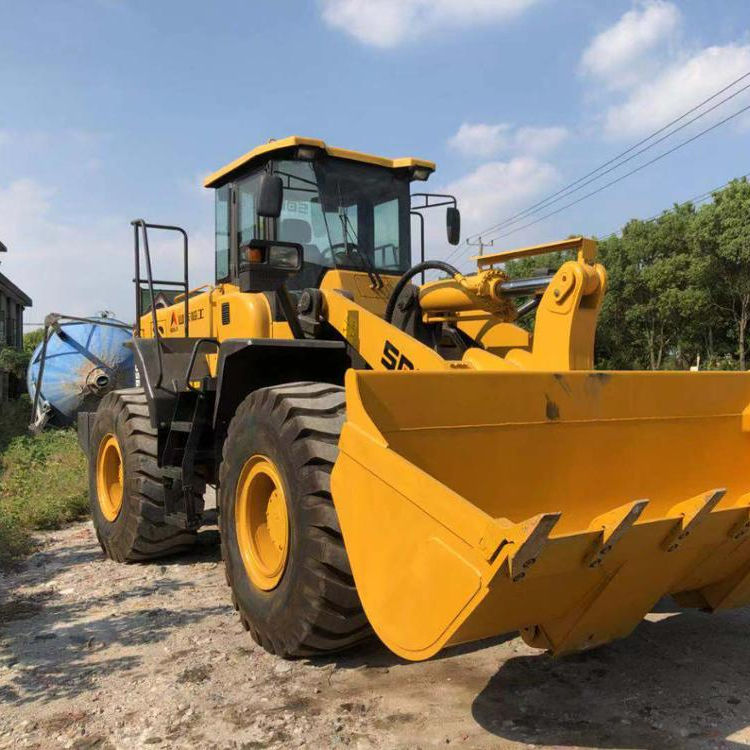 Construction Machine Used 956 LG 956 Wheel Loader For Sale, Secondhand Lingong Liugong Front Loader