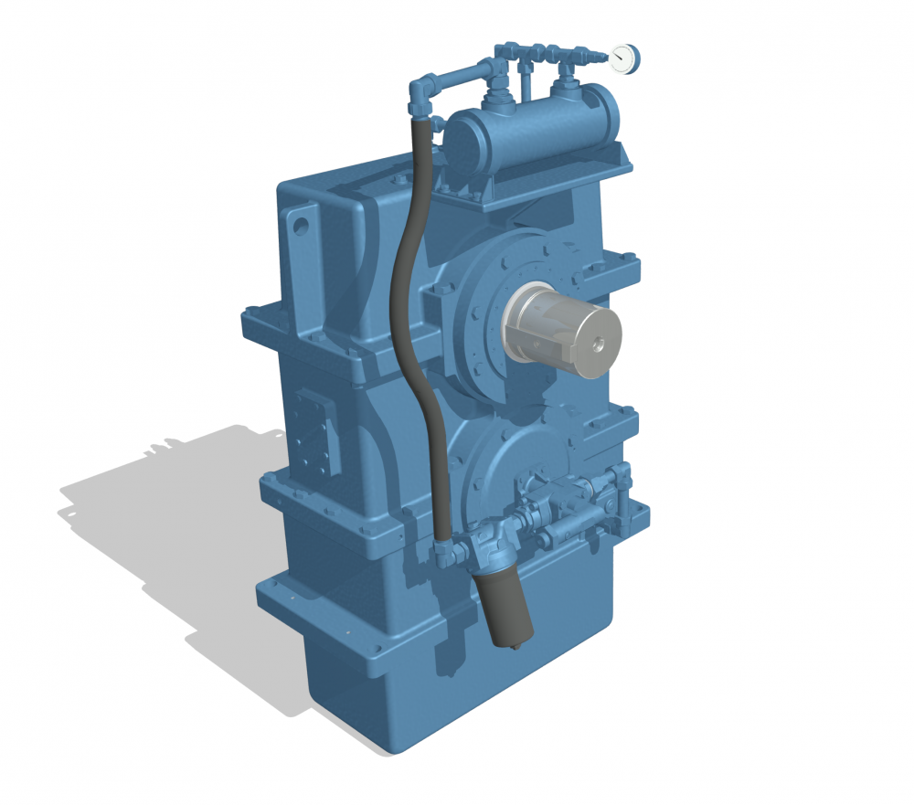 Generator gearbox / Genset / Frequency 50 <> 60 Hz / helical design/ customized / reliable /