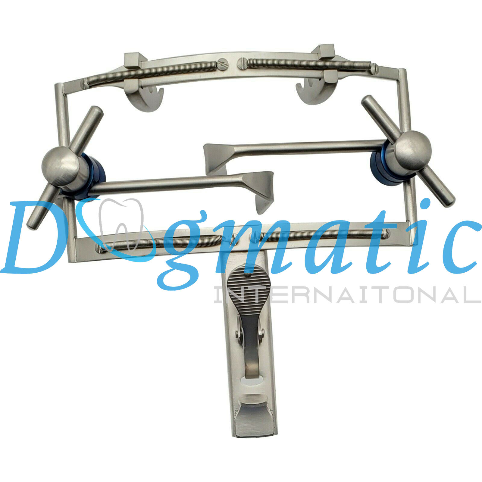Dingman Mouth Gag with 3 Tongue Blades Cheek Retractor Mouth Opener