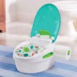 Portable Kids Potty Training Seat Soft Potty Training With Armrest Backrest Baby Potty