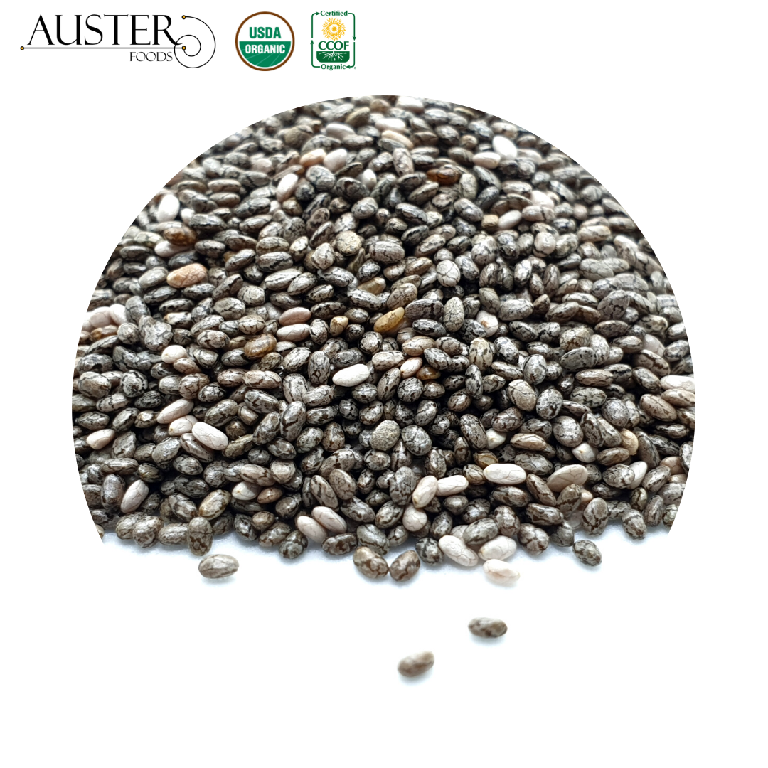 Black Chia Seeds (Pallet orders exported overseas)