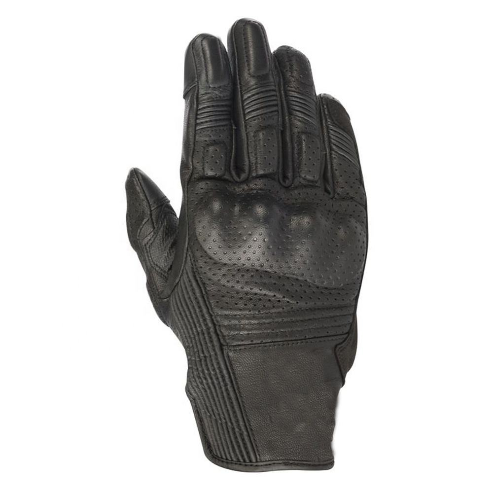 Motorcycle Summer Perforated leather flows air to keep your hands cool on summer rides Side reinforcement in synthetic suede