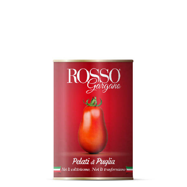 Top quality Italian from Apulia 500 gr Peeled Tomatoes